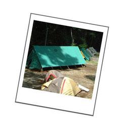 ガールスカウトテント