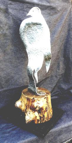 Oiseau perché (71 cm)