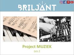 Briljant Project Muziek bij Verrijkend Projectonderwijs voor leerlingen in de plusklas. Hoogbegaafd, hoogbegaafdheid, basisonderwijs, basisschool, leerkracht, uitgeverij Pica.