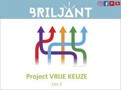 Briljant Project Vrije Keuze bij Verrijkend Projectonderwijs voor leerlingen in de plusklas. Hoogbegaafd, hoogbegaafdheid, basisonderwijs, basisschool, leerkracht, uitgeverij Pica.