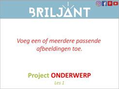 Briljant eigen project ontwerpen bij Verrijkend Projectonderwijs voor leerlingen in de plusklas. Hoogbegaafd, hoogbegaafdheid, basisonderwijs, basisschool, leerkracht, uitgeverij Pica.