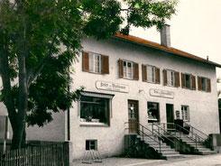 Metzgerei Kleber Geschäft 1960