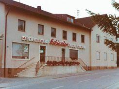 Metzgerei Kleber Geschäft 1980