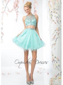 6963dadb3 Vestidos de Fiesta Cortos - Orquideas Dresses Vestidos Especiales