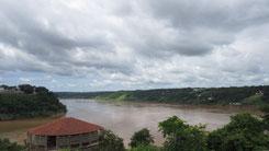 Tres Fronteras, Rio Paraguay