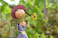Fée du jardin pour rester en bonne santé