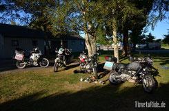 Neuseeland - Motorrad - Reise - Traveller Meeting
