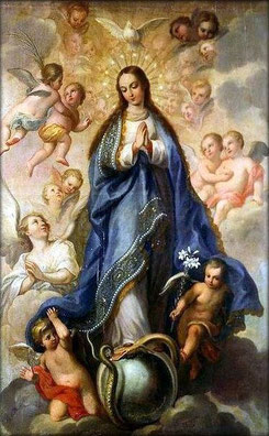 Image result for free pictures of the immaculate conception