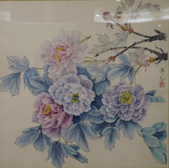 牡 丹 (冬) (工筆画・  )