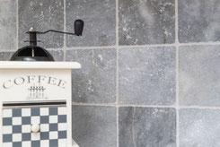 Marmo Bardiglio nel rivestimento cucina