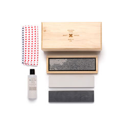 Best Made Company The Tri-Stone Sharpening Kit