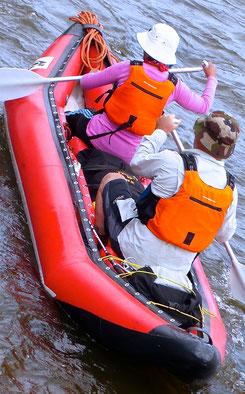 Rafting rivière Yeroo Mongolie