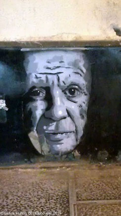 Street Art: Picasso