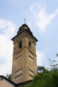 Bild: Der Turm von Ancienne chapelle des Pénitents noirs in Saorge