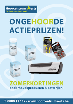 Van Bun Communicatie & Vormgeving - Grafische vormgeving - Lommel - Affiche Hoorcentrum Aerts