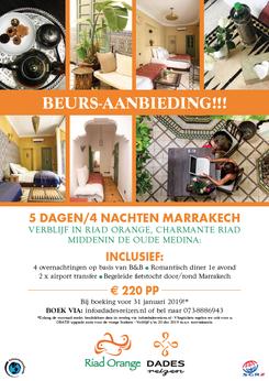 Van Bun Communicatie & Vormgeving - Grafische vormgeving - Lommel - Leaflet & Flyer Dades Reizen