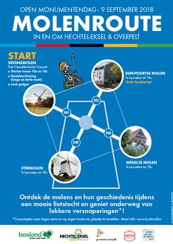 Van Bun Communicatie & Vormgeving - Grafische vormgeving - Lommel - Advertentie - Molenroute