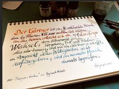 aus: Pinnegars Garten von Reginald Arges, frau jenson 2015
