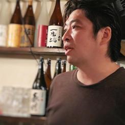 「酒肴 Wasabi」店主の竹見俊一郎さんの写真