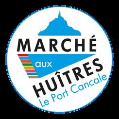 Logo Marché aux huîtres Cancale - Logo&Co Communication Cancale