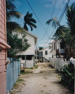 »Strassen«-Ansicht in Belize City