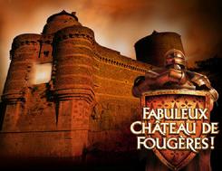 Fabuleux chateau médiéval de Fougères