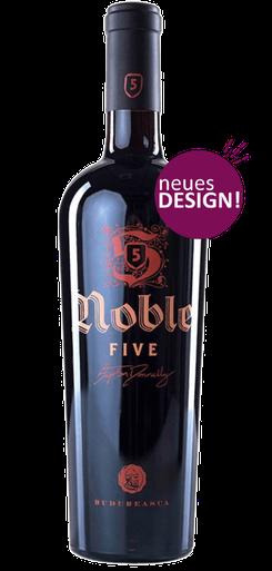 Budureasca Noble 5 - Cuvee 2018 (Shiraz, Merlot,  Feteasca Neagra , Cabernet Sauvignon, Pinot Noir