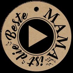 Küssler Singender Wein mit Musikmodul für die beste Mama