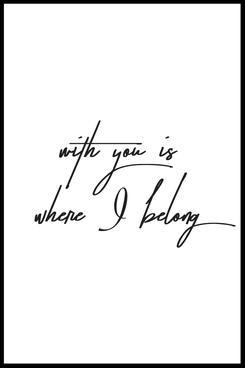 Typografie Poster, Typografie Print Liebe, liebevolle Wandbilder