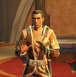 «Wir sind Jedi. Wir müssen zumindest versuchen, den Frieden herbeizuführen.» [Orgus Din]