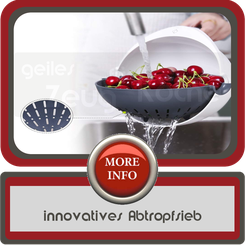 innovatives Abtropfsieb
