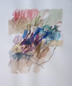 29.8.10 2010 69 x 57,5 cm Aquarell / Papier