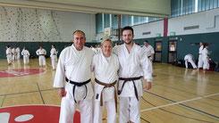 Karate SV Alfeld - Jürgen, Christa, Gerrit - KataMarathon Lich 2017