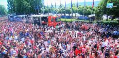 Liveübetragung Streetparade 2016 (Tele Züri)