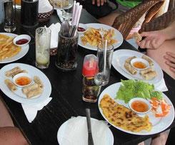 dégustation de banh xeo à Hoi An