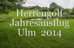 Herrengolf-Jahresausflug 2014 nach Ulm. Foto Rainer Sturm stormpic.de