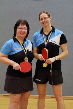 Eva Graser und Martina Wilder holten Gold!                   Foto: Kurt Bartuschek