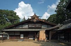 写真Wikipedia 馬場家住宅主屋、長野県松本市、1851年 @Wiiii