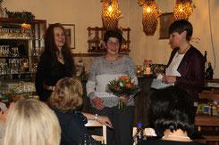 von links: Silke Fleer, Anne Stumm und Barbara Wand