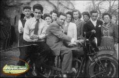 Les motos apparaissent à Leucamp