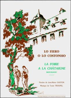 Chanson de la Foire à la châtaigne de Mourjou (Cantal)