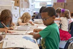 conte sur l'eczéma : les enfants à l'école