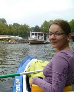 Theresia, Melli's soul mate in a canoe