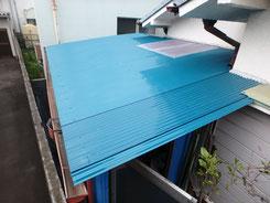 パイン工房多摩地区立川市 トタン屋根の貼り替え工事