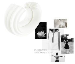 Nobahar-Design-Milano- contemporary jewelry-The Rebirth Of Lotus-moodboard-design thinking