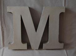 M wie Metallbuchstaben - kartique Shop für Vintage Leuchtbuchstaben