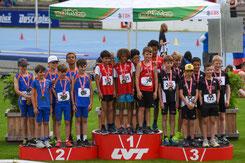 Silber für das U12 Herrenteam an den Kantonalmeisterschaften