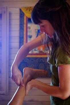 massage indien ayurvédique ayurvéda Laurane Réunion kala yoga