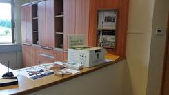 Handy-Box im Sekretariat der Waldorf-Schule © F. Mühleck
