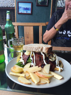 Clubhouse-Sandwich in N's Kitchen